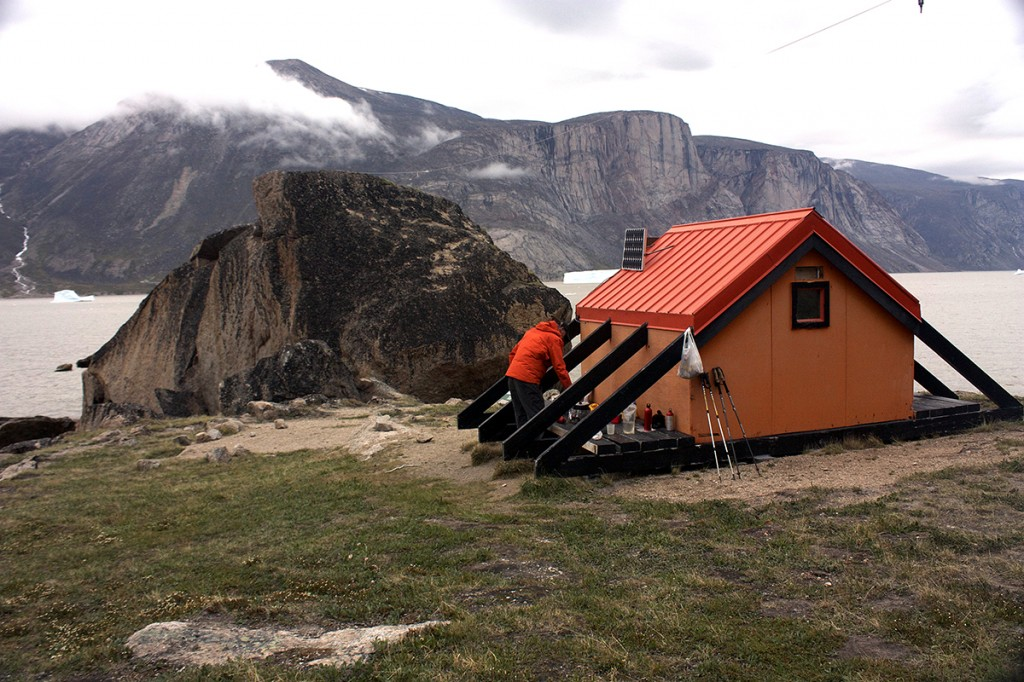 Parks Canada emergency huts, built to withstand the worst weather and   polar bears.
